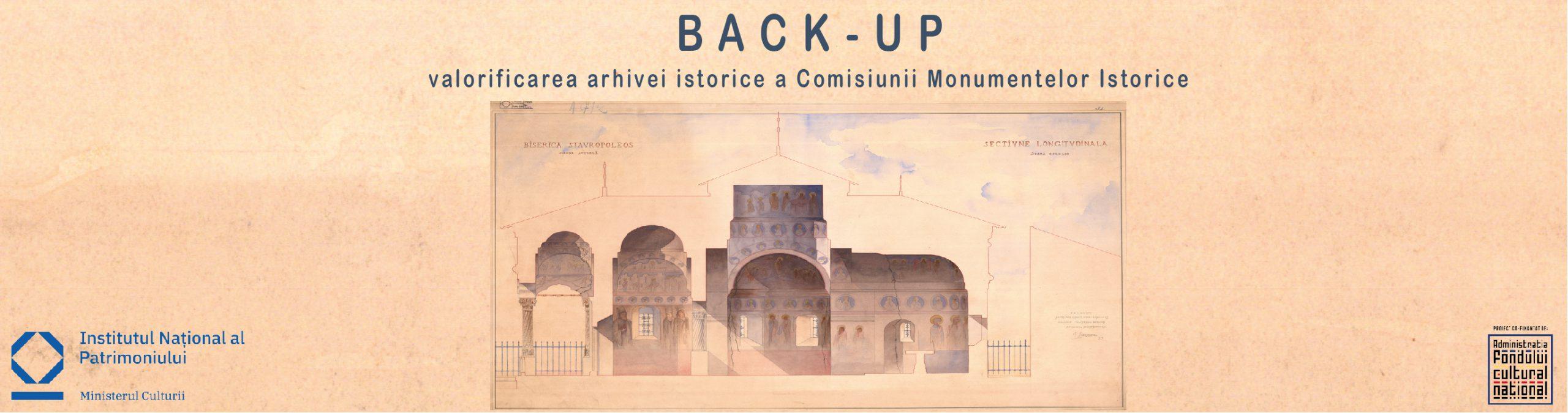 Back-up. Valorificarea arhivei istorice a Comisiunii Monumentelor Istoric